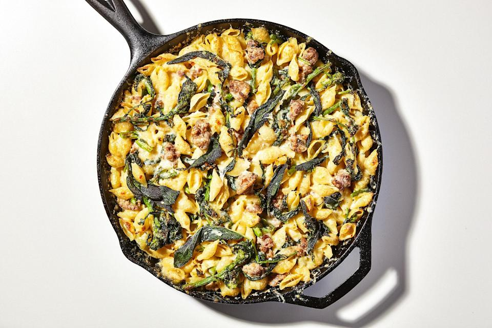 "<a href=""https://www.bonappetit.com/recipe/one-pot-baked-pasta-with-sausage-and-broccoli-rabe?mbid=synd_yahoo_rss"" rel=""nofollow noopener"" target=""_blank"" data-ylk=""slk:See recipe."" class=""link rapid-noclick-resp"">See recipe.</a>"