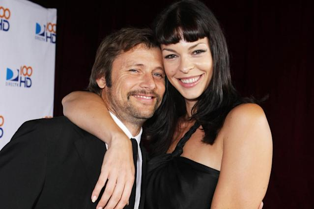 Grant Show and Pollyanna McIntosh in West Hollywood, Calif. on Sept. 17, 2007 (Photo: E. Charbonneau/Getty Images)