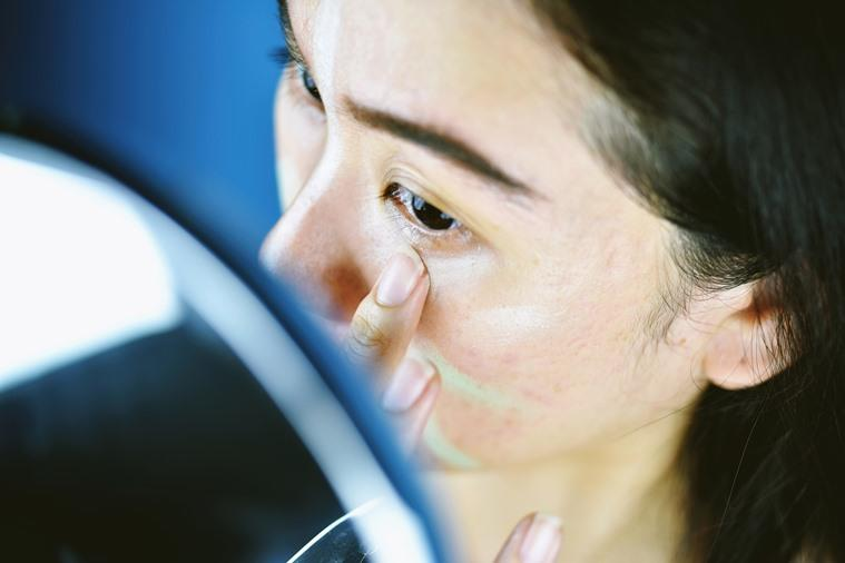 makeup, colour correcters, concealers, what are the best concealers, how to apply concealer, green colour correcter, orange colour correcter, indian express, lifestyle