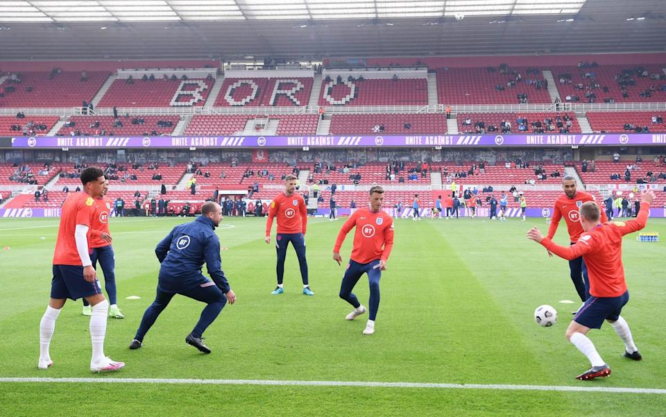 England vs Austria, Euro 2021 warm-up: live score and latest updates - GETTY IMAGES