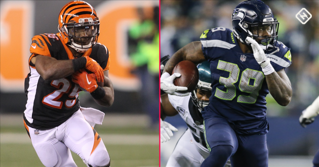 <p>Fantasy Football Waiver Wire Week 14: Giovani Bernard, Mike Davis among top pickups after prime-time showings</p>