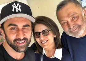 Neetu Kapoor shares 'like father like son' video comparing Rishi and Ranbir