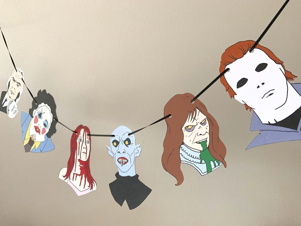 "Watch out for Michael Myers and Carrie White. <a href=""https://fave.co/2FDwgYI"" target=""_blank"" rel=""noopener noreferrer"">Find it for $14 on Etsy</a>."