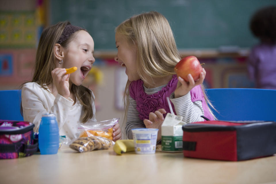 The headteacher won't allow pupils to have anything else with their food. [Photo: Getty]