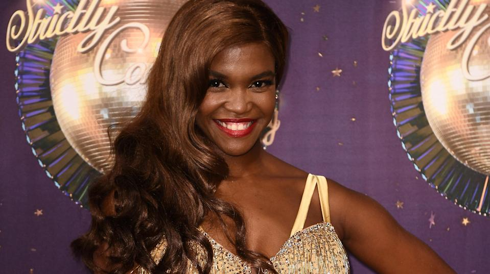 Oti fears being marked down because of her race. Copyright: [Rex]