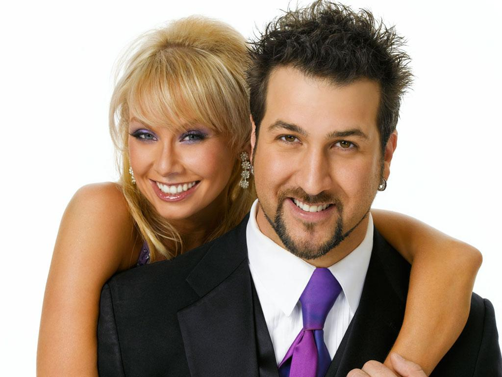 """Joey Fatone will be dancing with Kym Johnson this fall on ABC's """"Dancing With the Stars: All-Stars,"""" premiering September 23."""