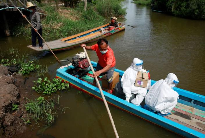 COVID-19 testing in Thailand's remote communities