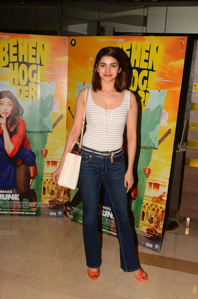 <p>She started her career in Ekta Kapoor's TV serial 'Kasam Se' after which she rose to fame on the small-screen. </p>