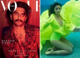 Ranveer Singh is the only man on Vogue's 'Women of the Year' issue