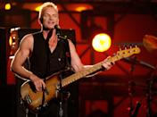 "<p>Sting and his first wife, Frances Tomelty, have two children together, a son, Joseph, and daughter, Fuchsia Katherine. These days, the 36-year-old actress and singer goes by ""Fuschia Kate"" with roles in <em>Saving Mr. Banks</em> and <em>Billionaire Boys Club</em>, as well as <a href=""https://www.instagram.com/fuschiakate/p/BQKGFhZDp3s/"" rel=""nofollow noopener"" target=""_blank"" data-ylk=""slk:a singer for the Logan movie"" class=""link rapid-noclick-resp"">a singer for the <em>Logan</em> movie</a>'s Super Bowl ad.</p>"