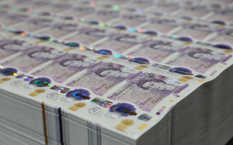 New £20 note - Bank of England