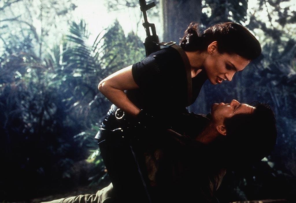 "<a href=""http://movies.yahoo.com/movie/contributor/1800021195"">Famke Janssen</a>, ""<a href=""http://movies.yahoo.com/movie/1800249529/info"">Goldeneye</a>""<br><br>As Bond baddie Xenia Onatopp, the S&M-loving lust murderess uses her lethal legs to asphyxiate men by crushing their chests after luring them to their deaths with her sex appeal."