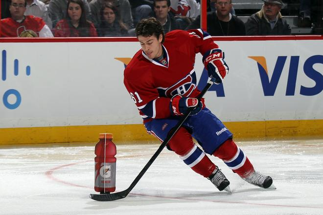 OTTAWA, ON - JANUARY 28:  Raphael Diaz #61 of the Montreal Canadiens and team Chara skates during the G Series NHL Skills Challenge Relay part of the 2012 Molson Canadian NHL All-Star Skills Competition at Scotiabank Place on January 28, 2012 in Ottawa, Ontario, Canada.  (Photo by Bruce Bennett/Getty Images)