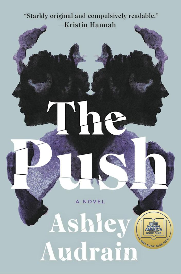 """""""The Push"""" book cover"""