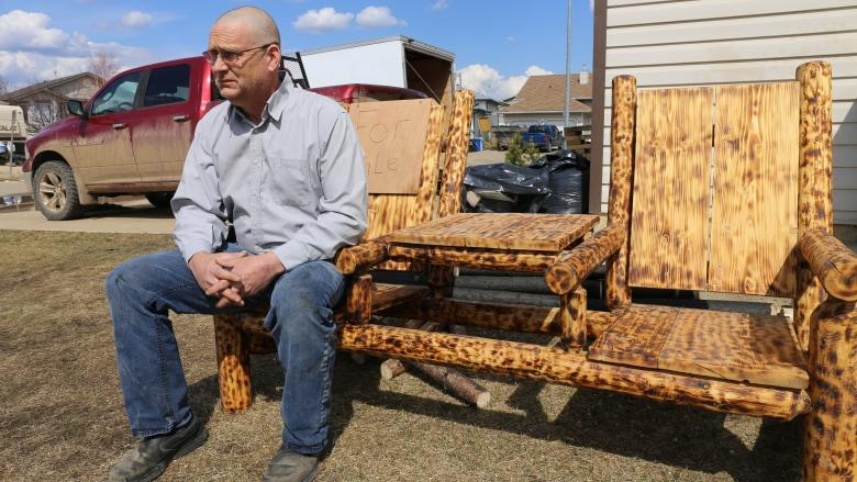 Scavenged from the ashes: Fort McMurray carpenter creates wildfire-charred furniture