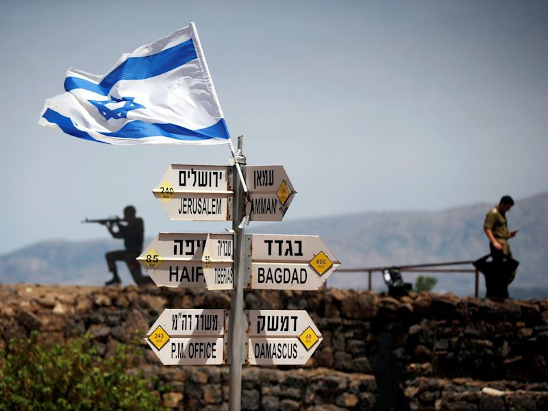World united in condemnation of Trump over call to recognise Israel's claim to Golan Heights