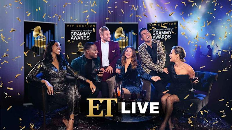 ET Is Live for GRAMMYs 2019 Post-Show: Watch Now!