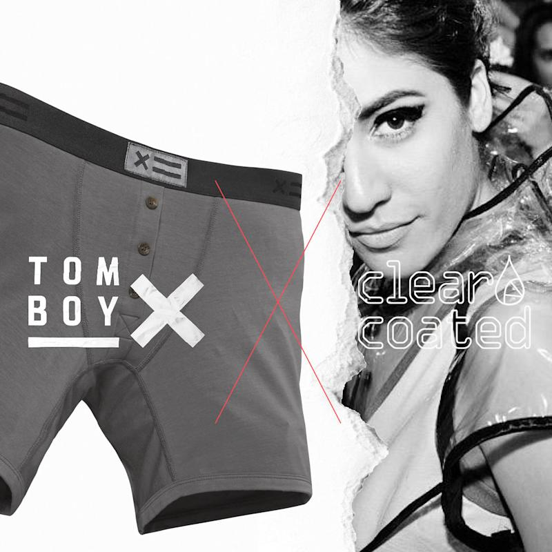 (TomboyX with Clear Coated collaboration)