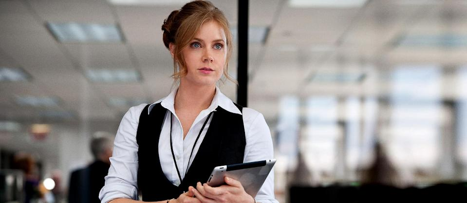 """This film publicity image released by Warner Bros. Pictures shows Amy Adams as Lois Lane in """"Man of Steel."""" (AP Photo/Warner Bros. Pictures)"""