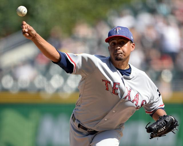 Relief pitcher Ernesto Frieri went back to the basics this offseason. (Getty Images)