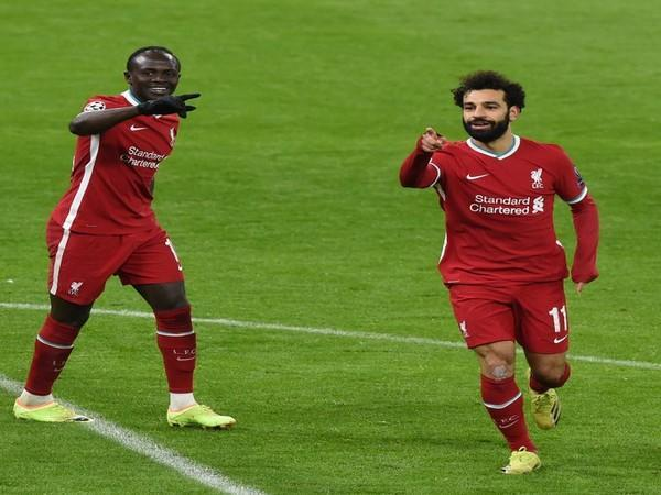 Sadio Mane and Mohamed Salah in action (Photo/ Liverpool FC Twitter)