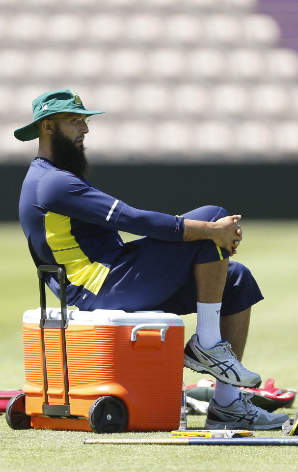 Britain Cricket - South Africa Nets - Ageas Bowl - 26/5/17 South Africa's Hashim Amla during nets Action Images via Reuters / Matthew Childs Livepic