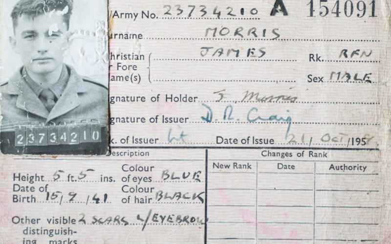James Morris had been serving in the army - Credit: Mark F Gisbon/Caters