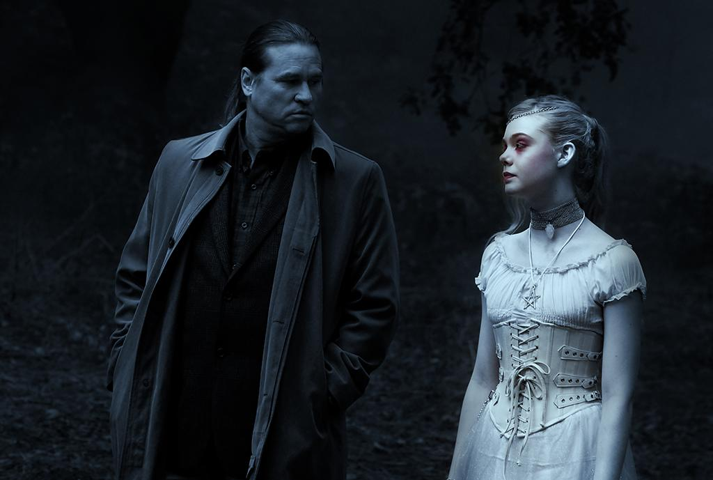 """Val Kilmer and Ellen Fanning in American Zoetrope's """"Twixt"""" - 2011"""