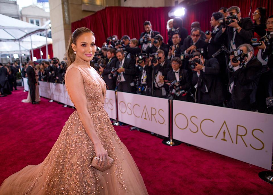 <p>Jennifer Lopez knows how to make an entrance.</p><p>From her princess moments in tulle Giambattista Valli and voluminous Valentino, to her most daring outings in flesh-flashing Versace and Zuhair Murad, Jennifer Lopez has given us plenty of memorable red-carpet moments over the two decades since she first hit the spotlight. </p><p>Here, we round up our 50 favourite J Lo looks of all time. </p>