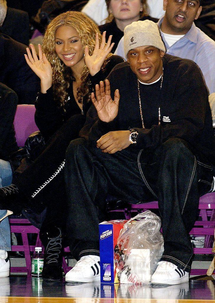 <p>One of the couple's very first dates - shortly before '03 Bonnie and Clyde' was released suggesting Beyoncé and Jay-Z were more than just friends - was to a basketball game at Madison Square Gardens.</p>