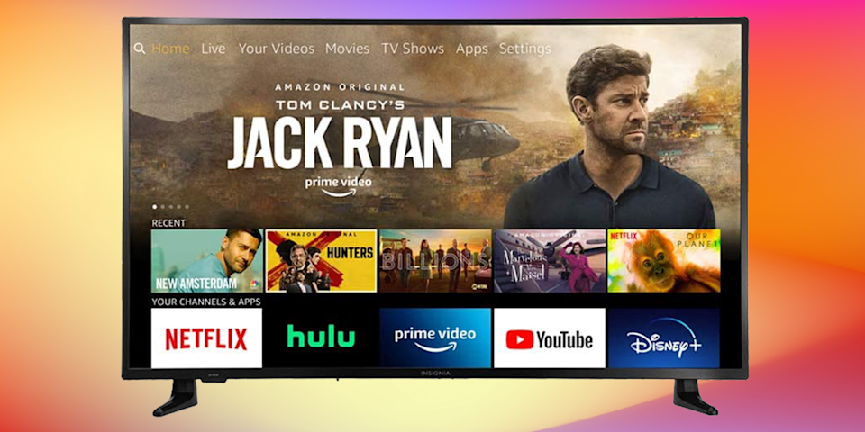 Save $100 on this Insignia 70-inch Smart 4K Ultra HD—FireTV Edition. (Photo: Amazon)