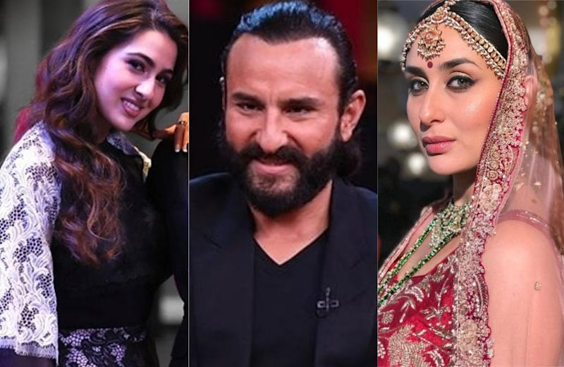 Did You Catch Saif Ali Khan's Expression When Daughter Sara Rated Kareena Lower Than Deepika & Alia?