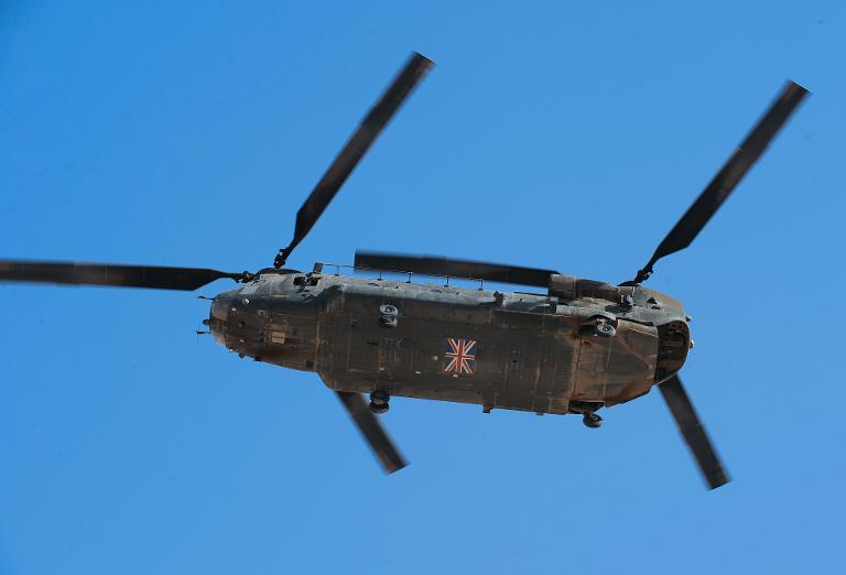 British Chinook helicopters carrying aid have been barred from Nepal due to concerns they could damage buildings