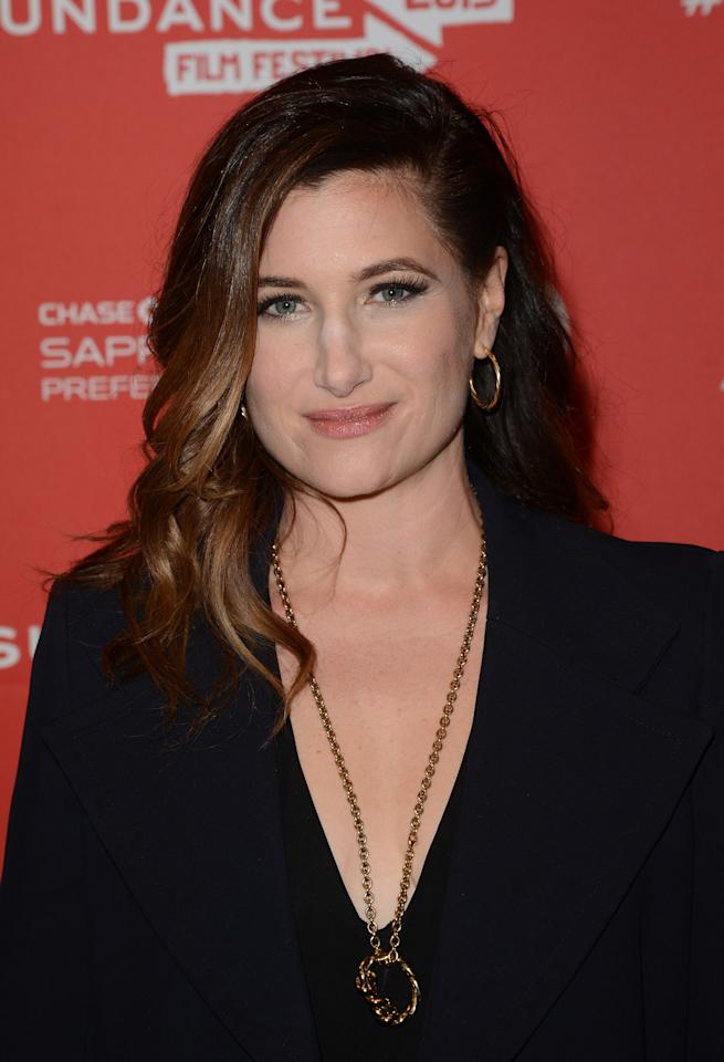 PARK CITY, UT - JANUARY 21:  Actress Kathryn Hahn attends the 'Afternoon Delight' premiere at Eccles Center Theatre during the 2013 Sundance Film Festival on January 21, 2013 in Park City, Utah.  (Photo by Jason Merritt/Getty Images)