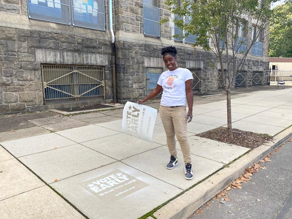 Activists have encouraged people to vote early to help ease strains on election dayRichard Hall / The Independent