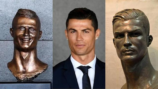 Two artists tried to capture Cristiano Ronaldo in bronze. One succeeded.