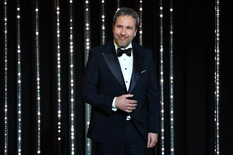 Denis Villeneuve during the closing ceremony of the Cannes Film Festival 2018. (Credit: Alberto Pizzoli/AFP via Getty Images)