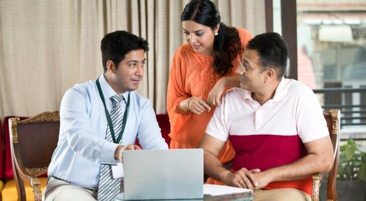 Financial advisor with Indian family