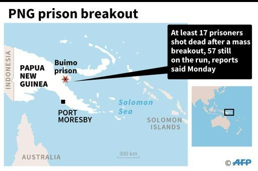 17 shot dead in PNG prison breakout: reports