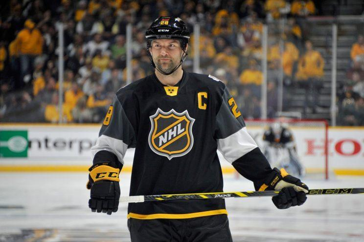 John Scott's career is literally getting a storybook ending. (Getty Images)