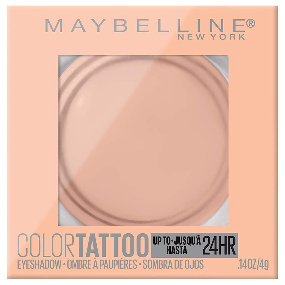 "<p>""I've been using the <a href=""https://www.popsugar.com/buy/Maybelline-New-York-Color-Tattoo-24-Hour-Longwear-Cream-Eyeshadow-587518?p_name=Maybelline%20New%20York%20Color%20Tattoo%2024%20Hour%20Longwear%20Cream%20Eyeshadow&retailer=amazon.com&pid=587518&price=7&evar1=bella%3Auk&evar9=40920323&evar98=https%3A%2F%2Fwww.popsugar.com%2Fbeauty%2Fphoto-gallery%2F40920323%2Fimage%2F47601969%2FMaybelline-New-York-Color-Tattoo-24-Hour-Longwear-Cream-Eyeshadow&list1=makeup%2Cbeauty%20products%2Ceditors%20pick%2Cbeauty%20shopping%2Cbeauty%20news%2Cdrugstore%20beauty%2Cskin%20care&prop13=api&pdata=1"" class=""link rapid-noclick-resp"" rel=""nofollow noopener"" target=""_blank"" data-ylk=""slk:Maybelline New York Color Tattoo 24 Hour Longwear Cream Eyeshadow"">Maybelline New York Color Tattoo 24 Hour Longwear Cream Eyeshadow</a> ($7) since high school and will never give up my devotion to the creamy and pigmented formulas. I love them so much I actually still take regular trips to Ulta Beauty to buy them."" - SS</p>"