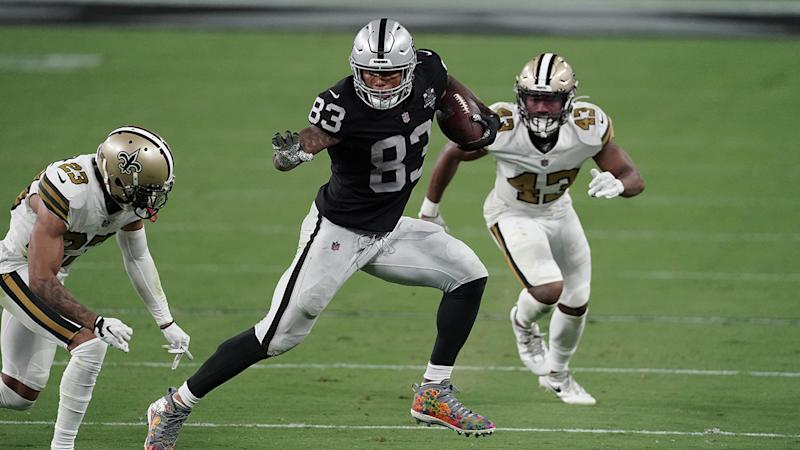 Patriots' Bill Belichick 'really impressed' by Raiders' Darren Waller