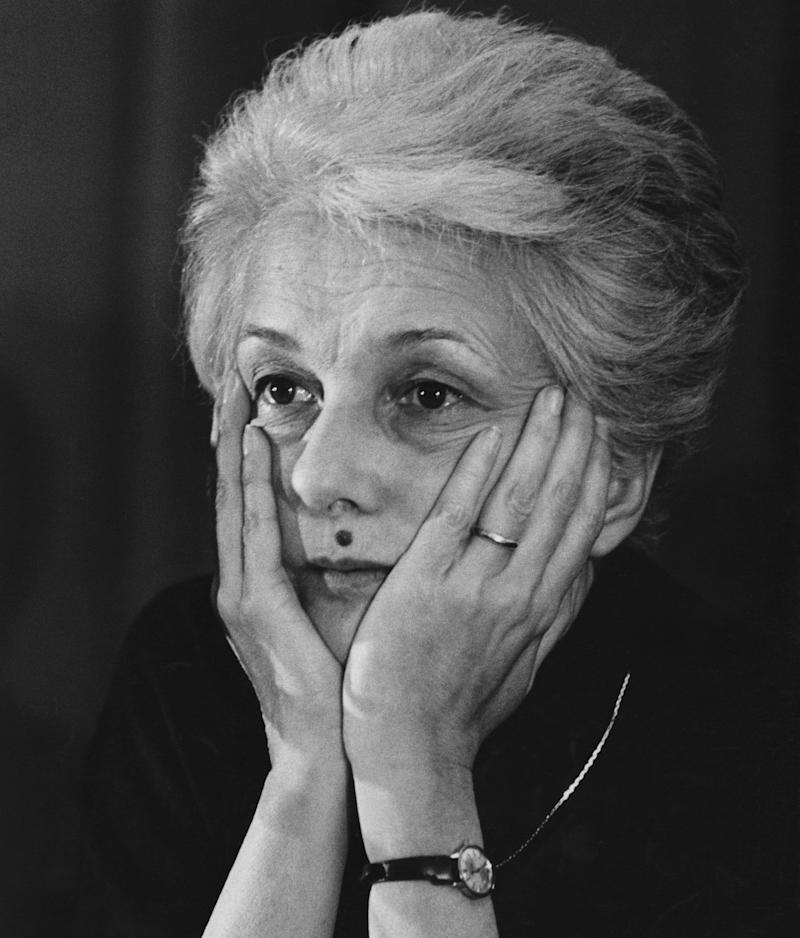 Rossana Rossanda, 13th February 1982. (Photo by Alberto Roveri/Mondadori via Getty Images) (Photo: Mondadori Portfolio via Getty Images)