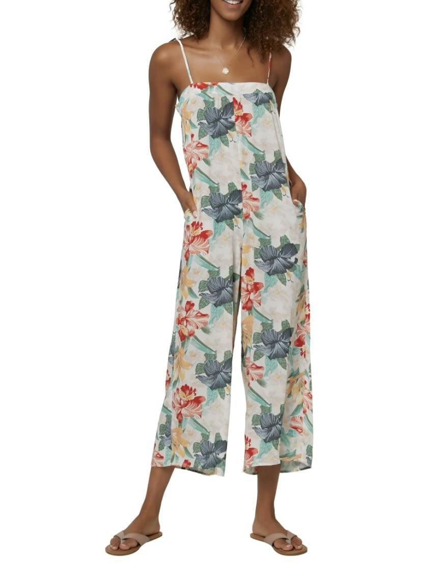 <p>This <span>O'Neill Elliot Tie Shoulder Cami Jumpsuit</span> ($60) is a fresh pick for summer outings.</p>