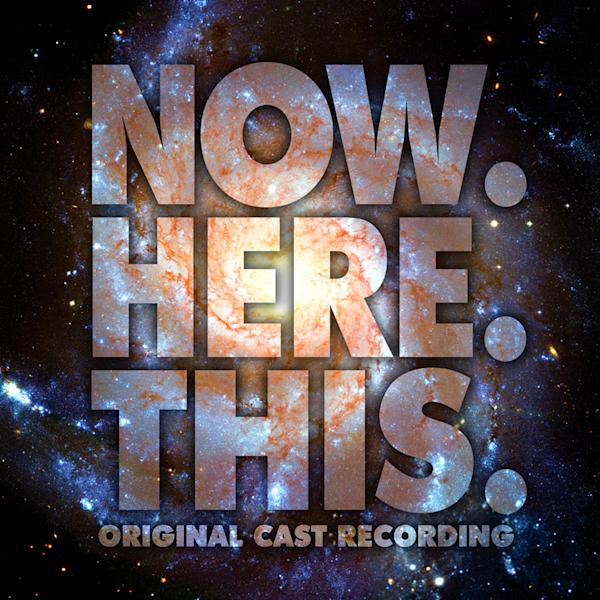 """This CD cover image released by Ghostlight shows """"Now.Here.This,"""" the original Broadway cast recording. Jeff Bowen, who starred in the show as well as wrote the songs and lyrics, turned to the show's fans via crowdfunding to get a cast album produced, an idea that more in the theater community are embracing. (AP Photo/Ghostlight)"""