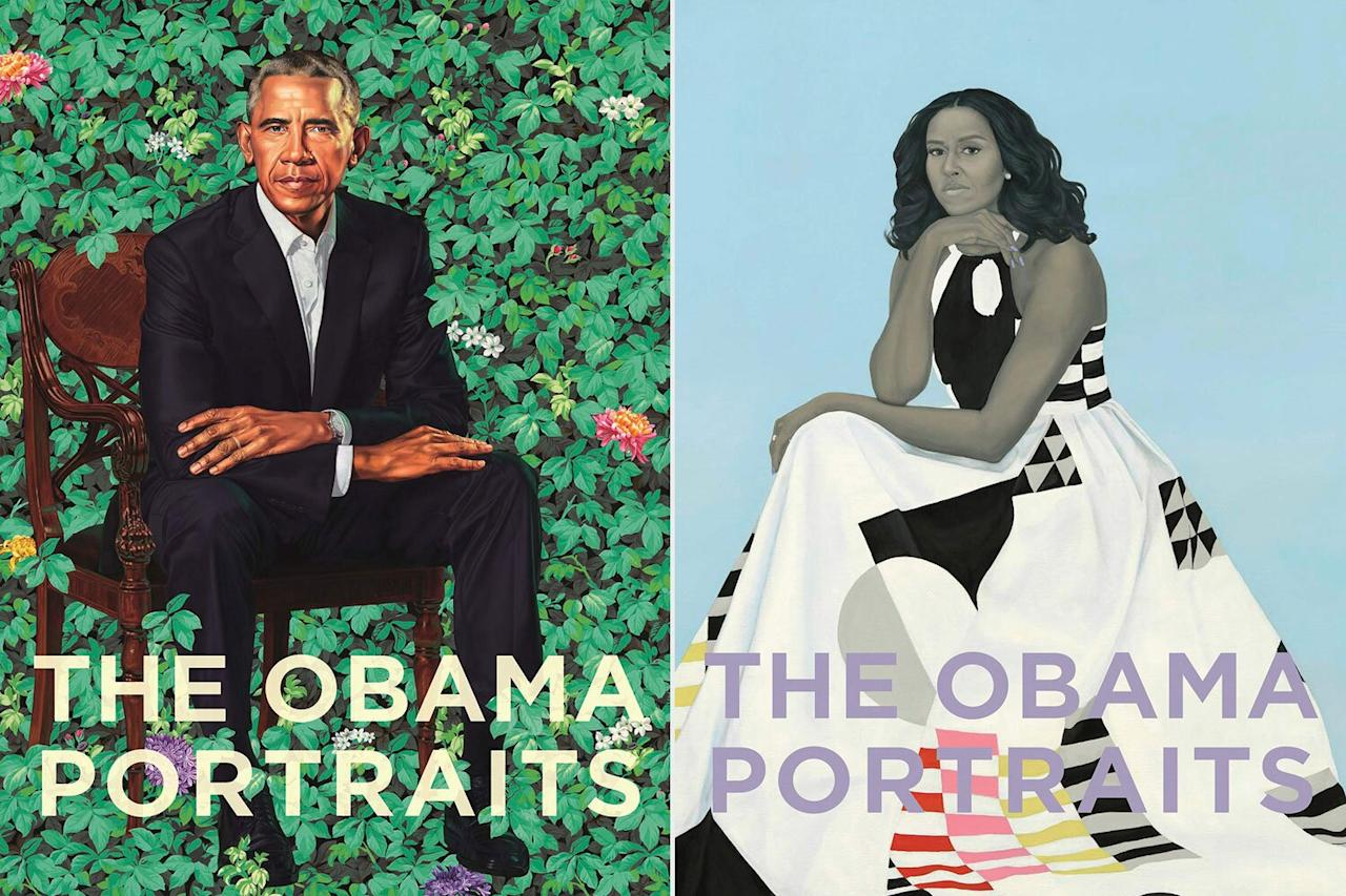 """<a href=""""https://www.amazon.com/Obama-Portraits-Ta%C3%ADna-Caragol/dp/0691203288/ref=sr_1_1?keywords=the+obama+portraits&qid=1580753175&s=books&sr=1-1"""">On Feb. 11</a>, Princeton University Press will publish<em>The Obama Portraits</em>, an illustrated ode to the paintings of President Barack Obama and First Lady Michelle Obama, as well as the work that went into them. A collaboration between National Portrait Gallery curators Taína Caragol and Dorothy Moss; art-history professor Richard J. Powell; and NPG director Kim Sajet, the book features several never-before-seen photos. EW can unveil a few of them here, exclusively."""