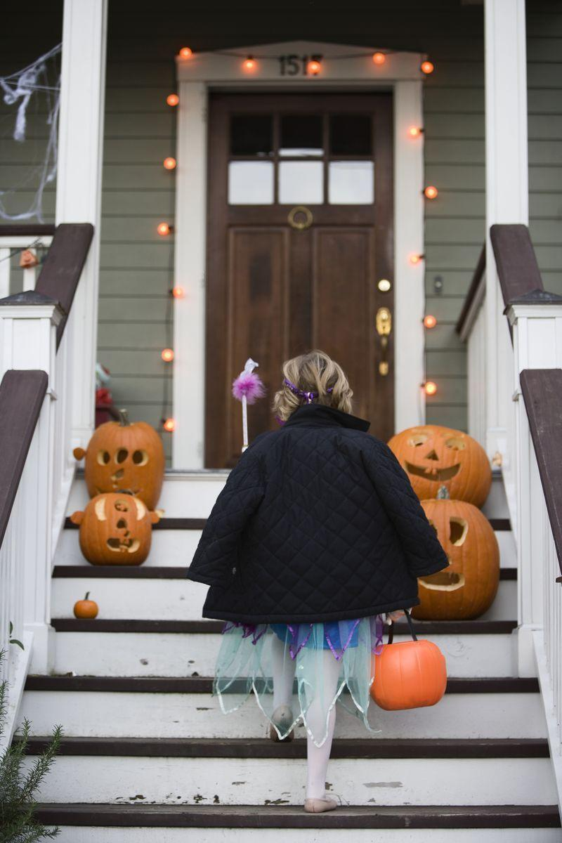 """<p>Answer: Philadelphia-based trick-or-treaters traded in a sweet tooth for sweet action in 1950. In lieu of candy, residents collected change for children overseas and sent it to UNICEF. Subsequently, the <a href=""""https://www.unicefusa.org/trick-or-treat"""" rel=""""nofollow noopener"""" target=""""_blank"""" data-ylk=""""slk:Trick-or-Treat for UNICEF"""" class=""""link rapid-noclick-resp"""">Trick-or-Treat for UNICEF</a> program was born.</p>"""