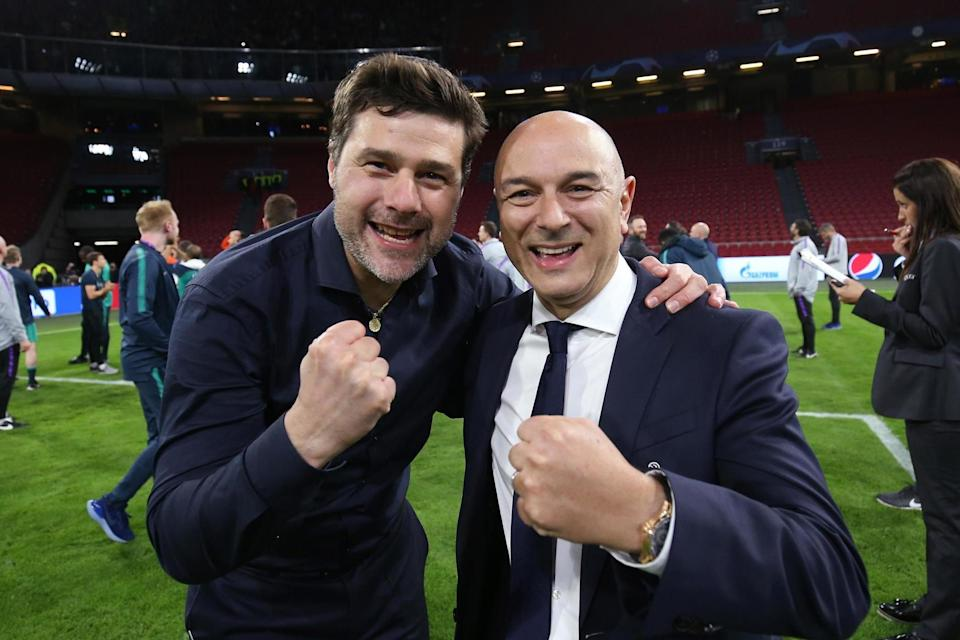 Levy admits Spurs struggled offload their deadwood. (Tottenham Hotspur FC via Getty Images)