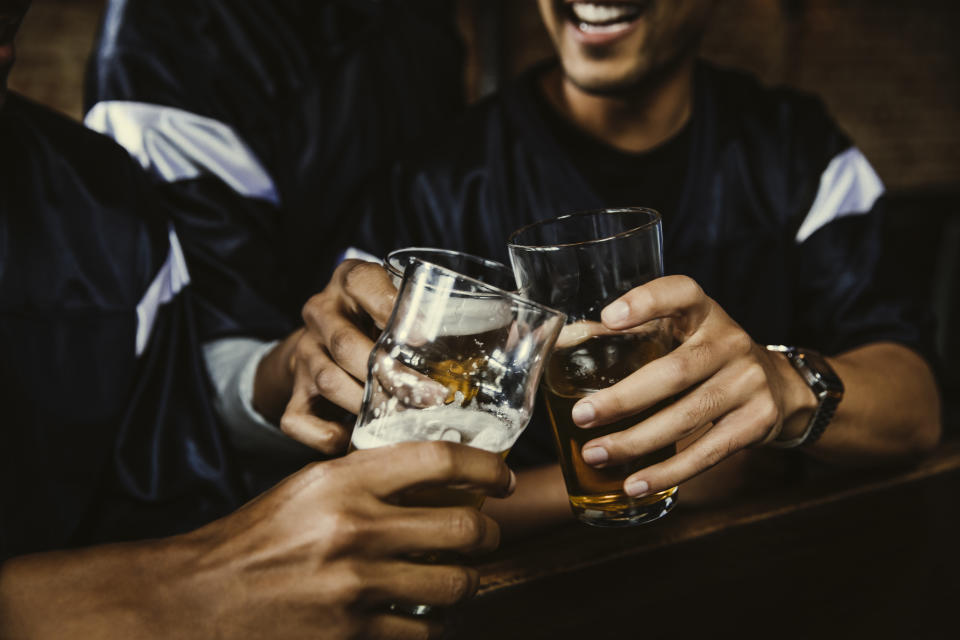A new study from researchers at the University of Oxford suggests that any amount of alcohol can damage your brain. (Getty Images)