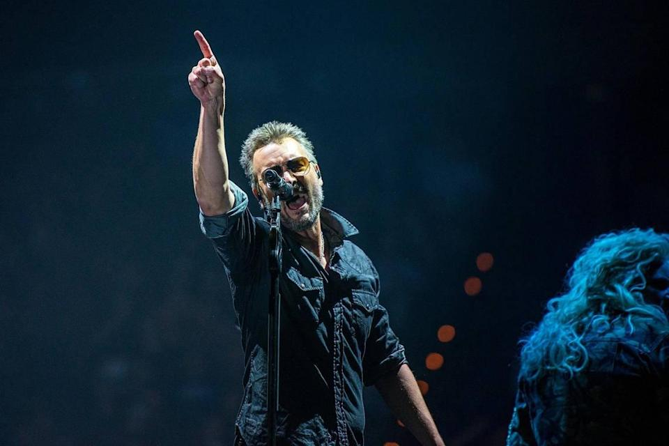 Eric Church in concert on Friday, September 17th, 2021. Rupp Arena in Lexington, Kentucky was the location of long awaited opening night of the 21/22 tour. Church is a vaccine advocate but did not require proof of vaccination or a negative test to attend.